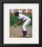 Ernie Banks 1969 Action Framed Photographic Print
