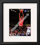 Derrick Rose 2010-11 Action Framed Photographic Print