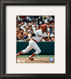 Carl Yastrzemski - Finish swing Framed Photographic Print