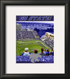 Kansas State University-Stadium Shot Framed Photographic Print