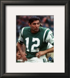 Joe Namath - on sidelines Framed Photographic Print