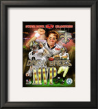 Drew Brees Super Bowl XLIV MVP Framed Photographic Print
