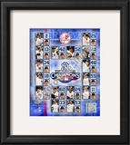 2009 New York Yankees World Series Champions Framed Photographic Print