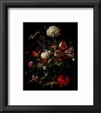Vase of Flowers Prints by Jan Davidsz. de Heem