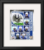 2010 Indianapolis Colts Team Composite Framed Photographic Print
