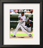 Denard Span 2010 Framed Photographic Print