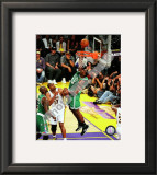 Kendrick Perkins Game Two of the 2009-10 NBA Finals Framed Photographic Print