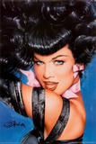Bettie Page - Olivia Eyes Posters