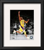 Kobe Bryant Game Seven of the 2010 NBA Finals Spotlight Action (36) Framed Photographic Print