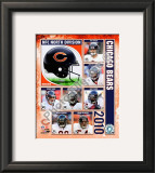 2010 Chicago Bears Team Composite Framed Photographic Print