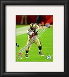 Pierre Thomas Super Bowl XLIV Framed Photographic Print