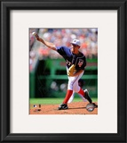 Stephen Strasburg 2010 Action Framed Photographic Print