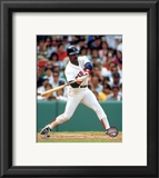 Jim Rice - Batting Framed Photographic Print