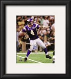 Brett Favre 2010 Action Framed Photographic Print