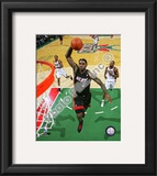 LeBron James 2010-11 Action Framed Photographic Print