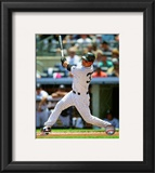 Nick Swisher 2010 Action Framed Photographic Print