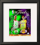 2009-10 NBA Finals Matchup Framed Photographic Print