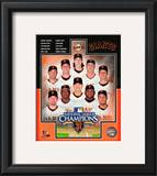 San Francisco Giants 2010 Natinal League Champions Composite Framed Photographic Print