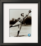 Ty Cobb - Fielding, sepia Framed Photographic Print