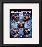 2010-11 Columbus Blue Jackets Team Composite Framed Photographic Print