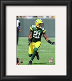 Charles Woodson 2010 Action Framed Photographic Print