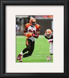 Terrell Owens 2010 Action Framed Photographic Print