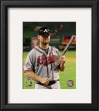 Brian McCann 2010 MLB All-Star Game MVP Framed Photographic Print