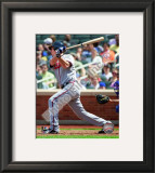 Chipper Jones 2010 Framed Photographic Print