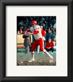Len Dawson - prepare to pass Framed Photographic Print