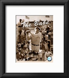 Babe Ruth - Legends Of The Game Composite Framed Photographic Print