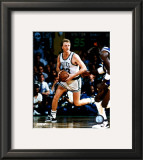Larry Bird - Ball in both hands Framed Photographic Print