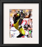 Lamarr Woodley 2010 Action Framed Photographic Print