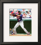 Delmon Young 2010 Framed Photographic Print