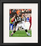 Colt McCoy 2010 Action Framed Photographic Print