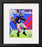 Ahmad Bradshaw 2010 Action Framed Photographic Print