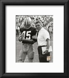 Vince Lombardi & Bart Starr Framed Photographic Print