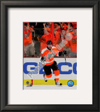 Mike Richards 2009-10 Playoff Framed Photographic Print