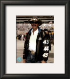 Richard Petty Portrait With Black Leather Jacket Framed Photographic Print