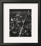 Night View of Lower Manhattan Prints by Christopher Bliss
