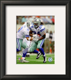 Marion Barber 2010 Action Framed Photographic Print