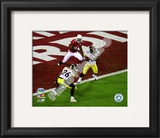 James Harrison Interception - Super Bowl XLIII Framed Photographic Print