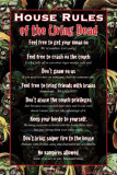 House Rules of the Living Dead (Zombies) Prints