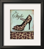 Giraffe Shoe Prints by Todd Williams