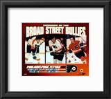 Gary Dornhoefer / Dave Schultz / Reggie Leach - Broad Street Bullies Framed Photographic Print
