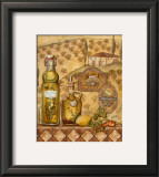 Flavors of Tuscany II Print by Charlene Audrey