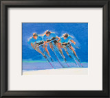 Cyclists Prints by Steve Kuzma
