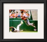 Cal Ripken Jr. 1989 Action Framed Photographic Print