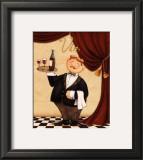 The Waiter, Vin Posters by Daphne Brissonnet