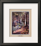 The Patio Prints by George Bjorkland