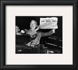 Harry S. Truman Framed Photographic Print